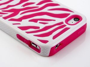 Zebra Combo Pink - iPhone 4s cases cheap