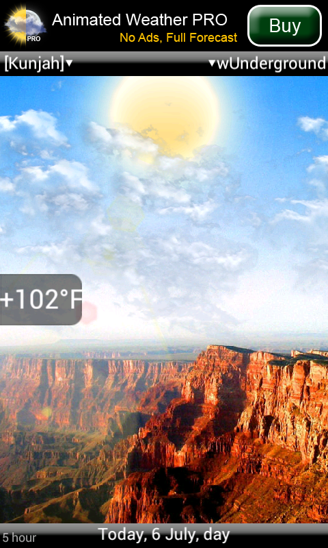 animated weather pro
