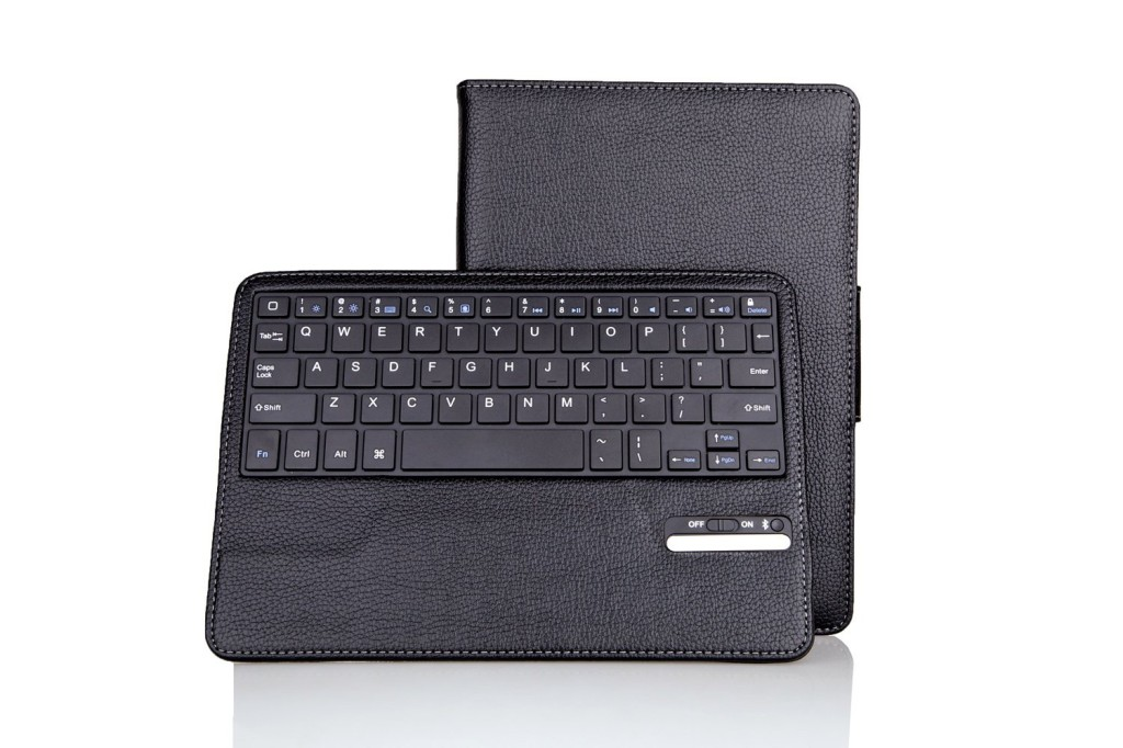 Sean New Arriver Leather Case With Detachable Wireless Keyboard