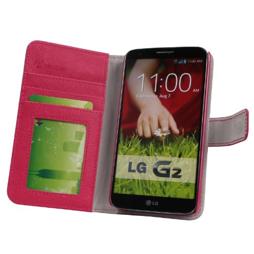 leather wallet cases and cover for LG G2