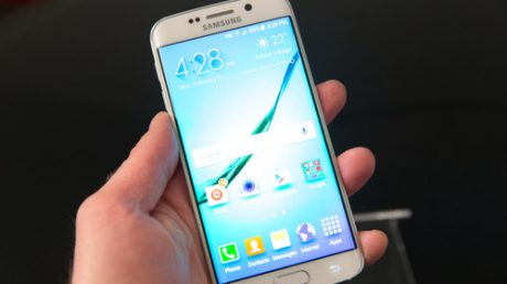 How to use the Galaxy S6 Edge left handed