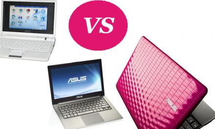 Netbooks VS Notebooks VS Laptops – The Ultimate Comparison