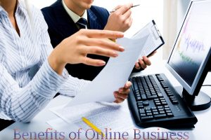 benefits of doing online business