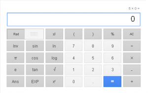 Calculator - Google Search Tips and Tricks