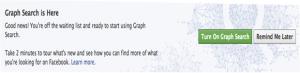 Facebook Graph Search Invitation