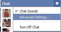 Facebook Chat Advanced Options