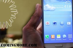 Galaxy S4 home screen