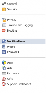 Notifications - Turn Facebook Notification sound on