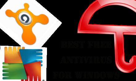 Some Best  Free Antivirus For Windows PC