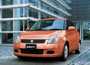 Pakistani made Suzuki Swift