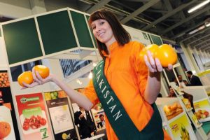 Pakistani Oranges In International Fruit Expo