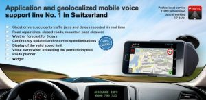 Swiss Traffic road live android app for the Swiss people and tourists