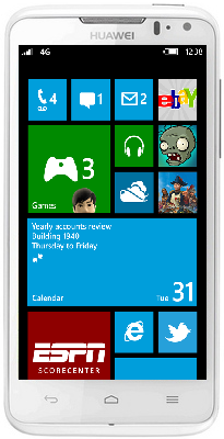 Windows Phone 8 collectio by Huawei