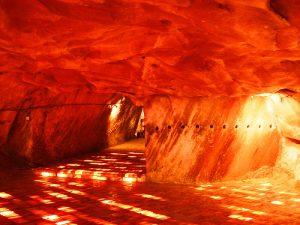 Khewra salt mine in Pakistan