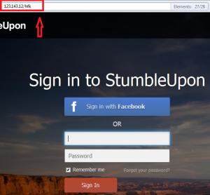 phishing for stumble upon