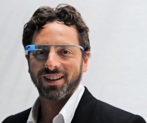 blue Google glass - Google glass photos Collection