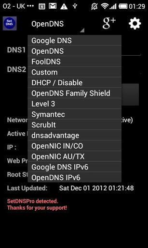 Set DNS - android apps for IT students
