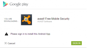 install apps remotely from Google Play website
