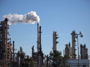 oil refinery - oil export