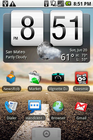 widgets in android phones
