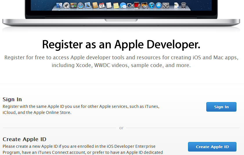 Get new apple developer ID - iOS 7 beta versions
