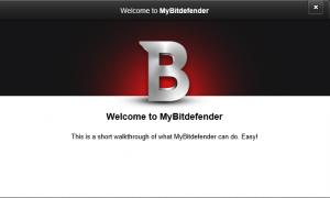 after setting up bitdefender internet security
