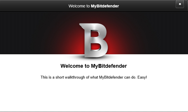 after setting up bitdefender internet security