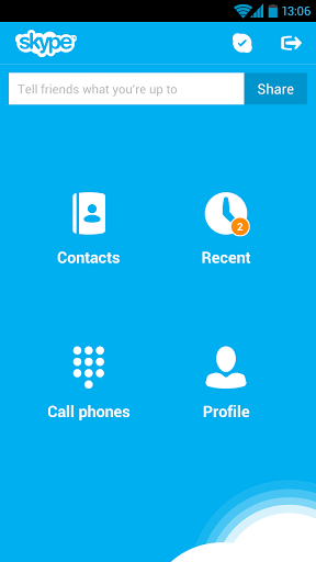 skype - Free calling apps