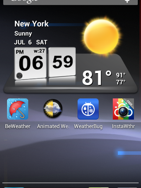 Ultimate List Of Android Weather Apps 2013