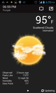 Beweather - weather apps for android
