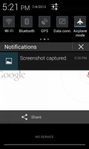 Take screenshot in Jelly Bean - Jelly Bean tips