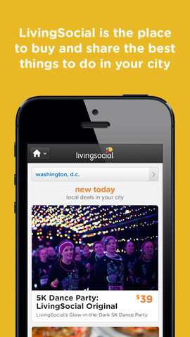 living social for iPhone, shopping apps