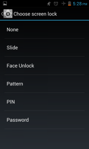 remove lock screen - android jelly bean tips
