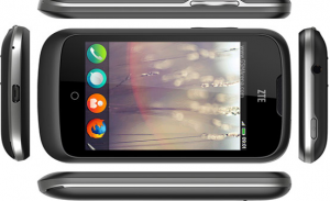 ZTE open screen and display