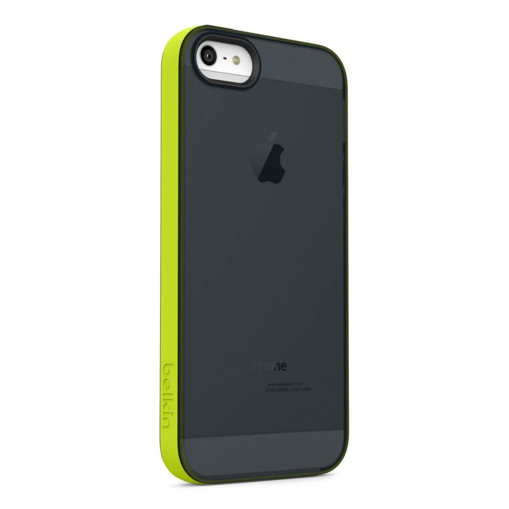 Black, Green candy sheer case for iPhone 5s
