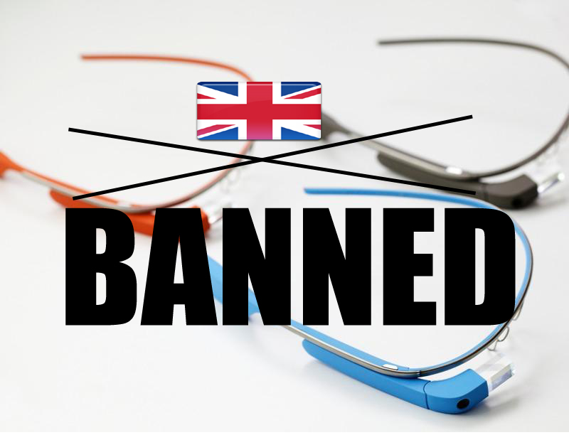 Google Glass To Be Banned In UK Even Before Its Release