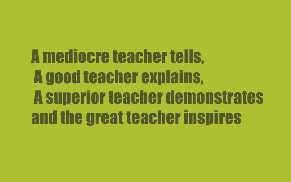 India's Teachers Day – Sayings Of My Teachers Which I Still Remember