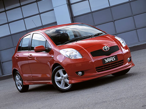 Toyota Yaris - things to import from Japan