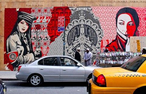 Wall Art - Guerilla Marketing