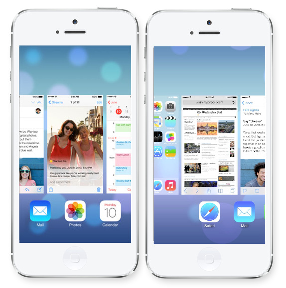 how to close apps on iOS7