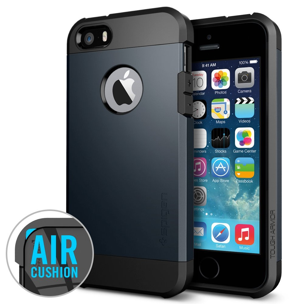 tough armor iPhone 5s case black