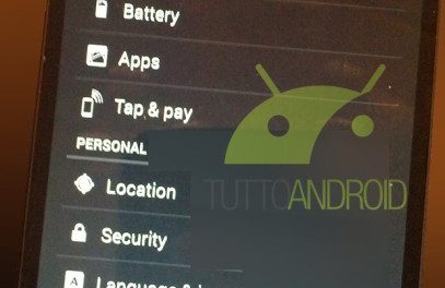 Android KitKat, Nexus 5 Leaked Photos