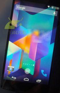 Android KitKat,Nexus 5 Leaked Photos - 4