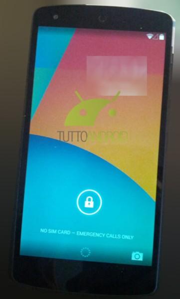 Android KitKat,Nexus 5 Leaked Photos - 5