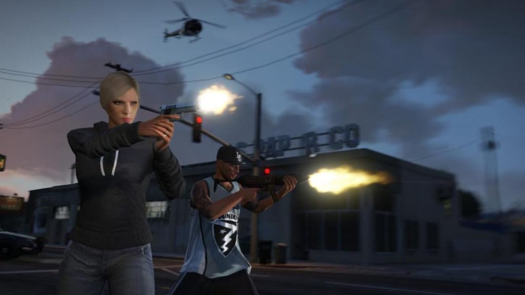 GTA online, liberty city