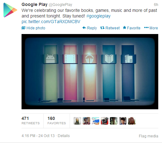 No Nexus 5, No Live Stream, Google Server Down, That's What Happened At Google Play Event