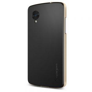 Premium Nexus 5 case with champagne gold color
