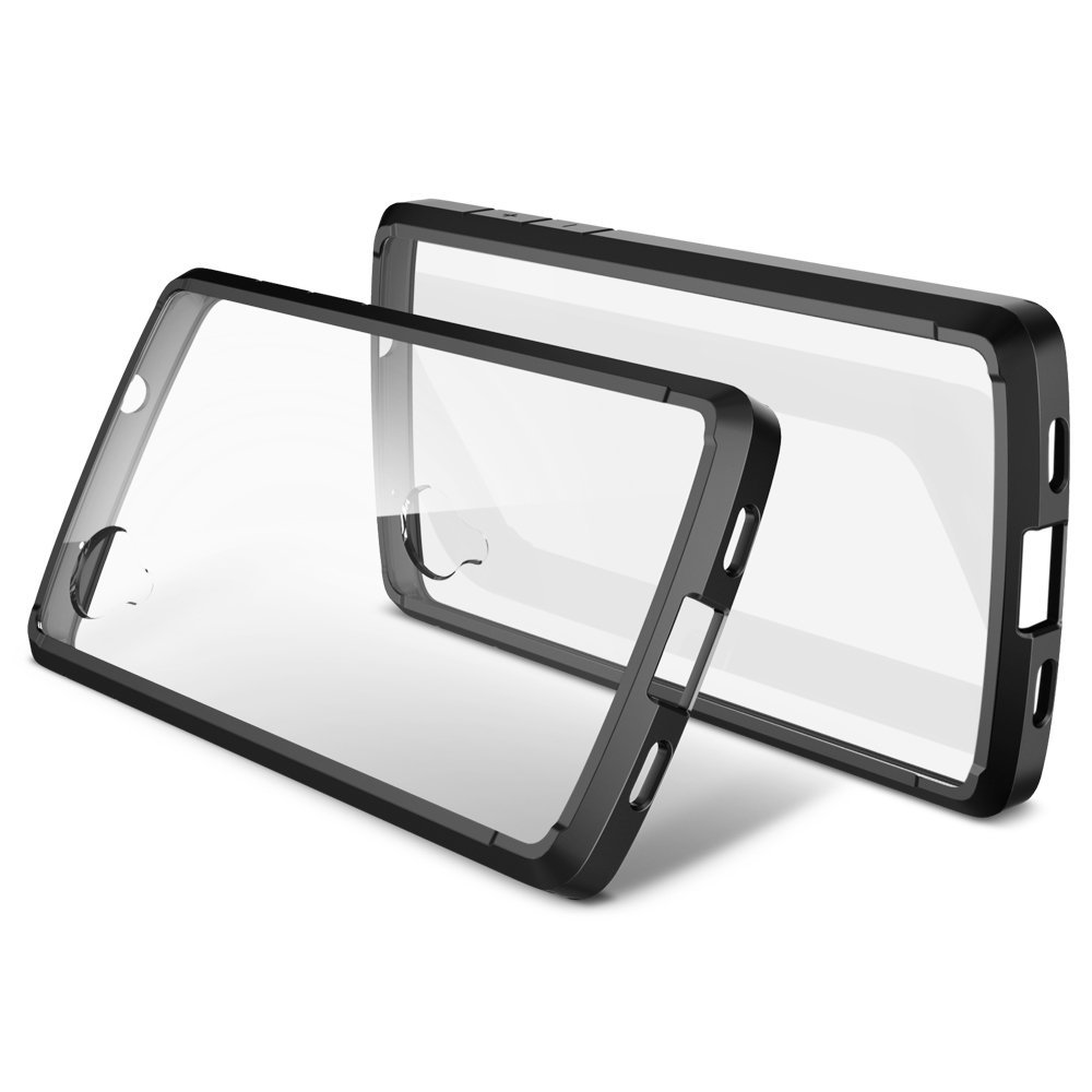 SPIGEN bumper case for Nexus 5 with clear back