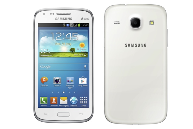 Samsung Galaxy Core - dual sim android