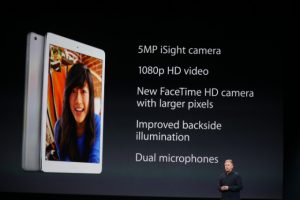 iPad Air camera specifications